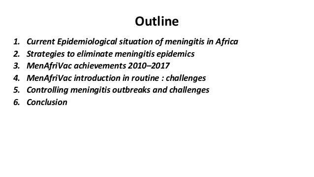 Dr Ado Bwaka @ MRF's Meningitis & Septicaemia in Children & Adults 2017 Slide 2