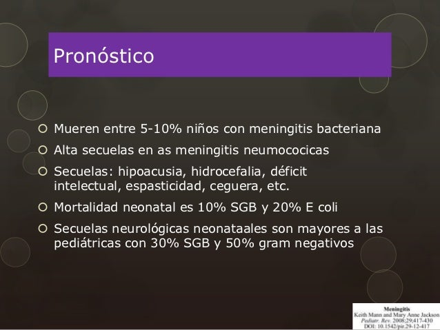 Meningitis bebe