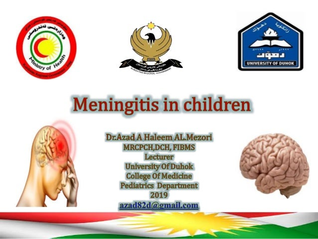 Meningitis • Infection and inflammation of the meninges surrounding the brain by direct inoculation or hematogenous spread.
