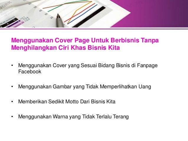 Meningkatkan Penjualan Dengan Menggunakan Cover Page Facebook Slide 2