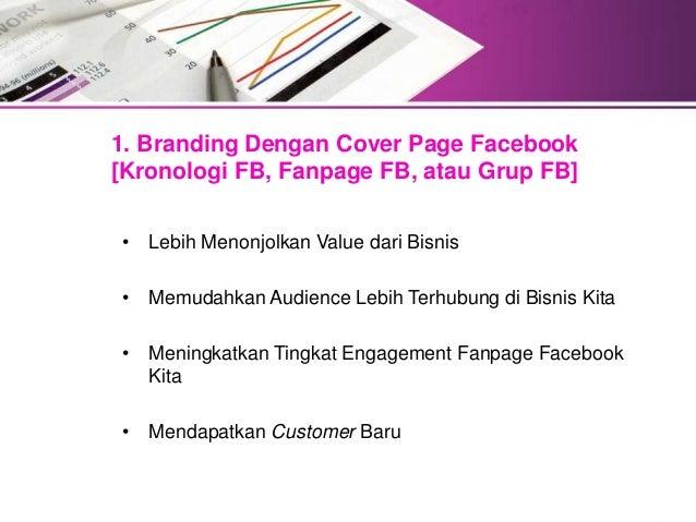 Meningkatkan Penjualan Dengan Menggunakan Cover Page Facebook Slide 3