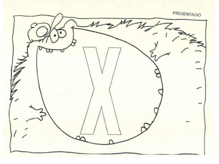 Menjalletres la x