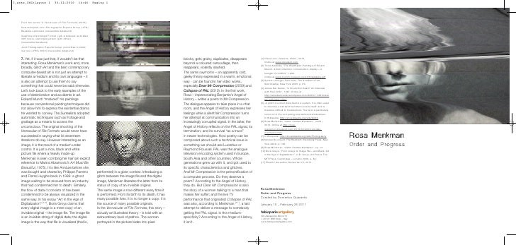 """3_ante_ING:Layout 1            30-12-2010          14:46       Pagina 1    From the series """"A Vernacular of File Formats"""" ..."""
