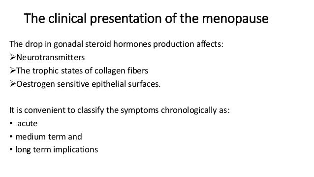 Hrt Menopause And Menopause And