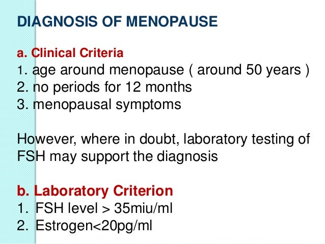 menopause signs and symptoms age
