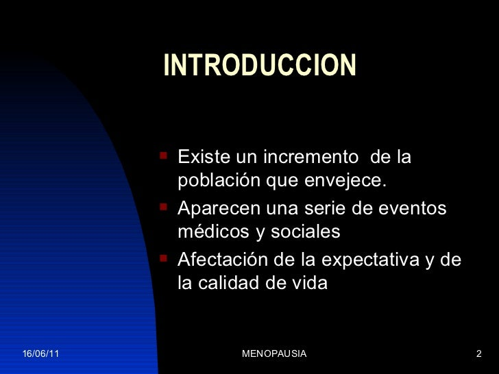 Menopausia Slide 2