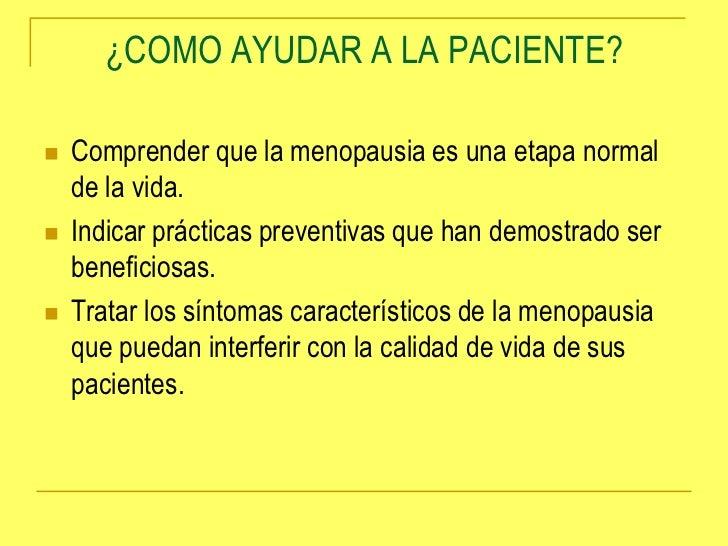 Menopausia climaterio y otros trastornos de la mujer Slide 3