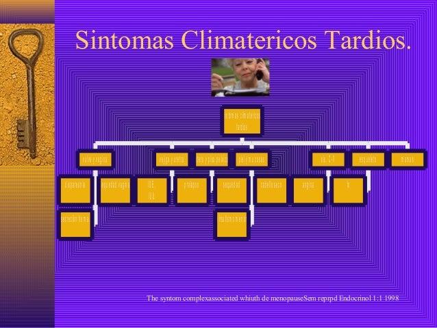 Sintomas Climatericos Tardios.                                                                                            ...
