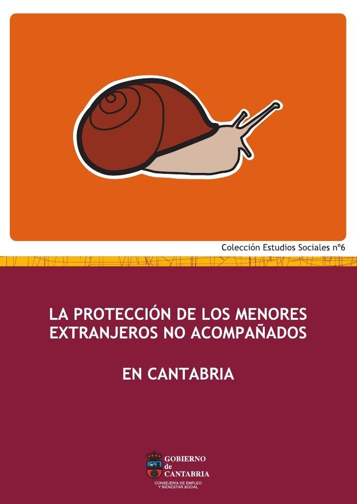 Menores extranjeros no acompañados en Cantabria   1LA PROTECCIÓN DE LOS MENORESEXTRANJEROS NO ACOMPAÑADOS              EN ...
