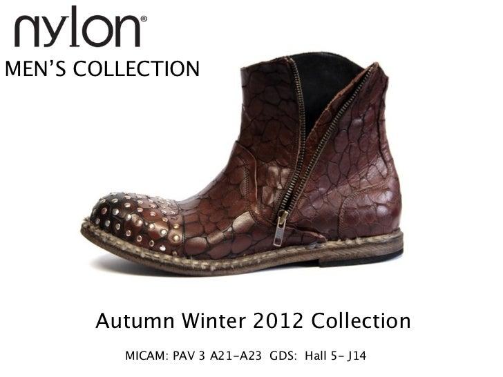 MEN'S COLLECTION         Micam Pav 3 A21-A23   Gds Hall 5       Autumn Winter 2012 Collection         MICAM: PAV 3 A21-A23...