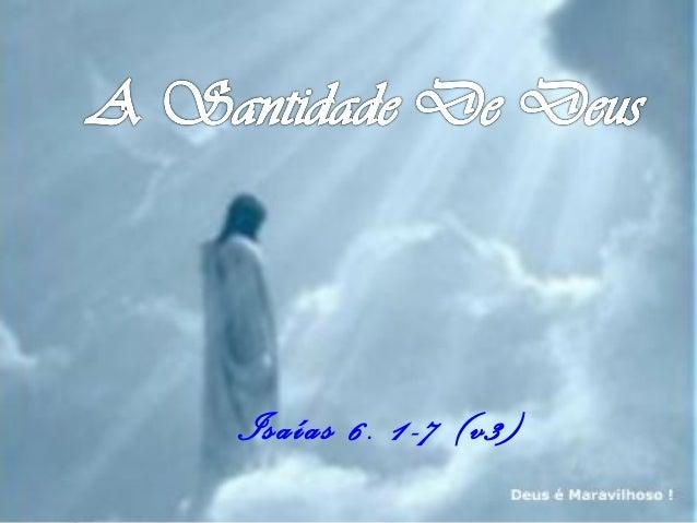 Isaías 6. 1-7 (v3)