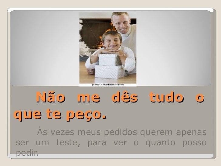 Mensagem Para Os Pais: Mensagem Para Os Pais