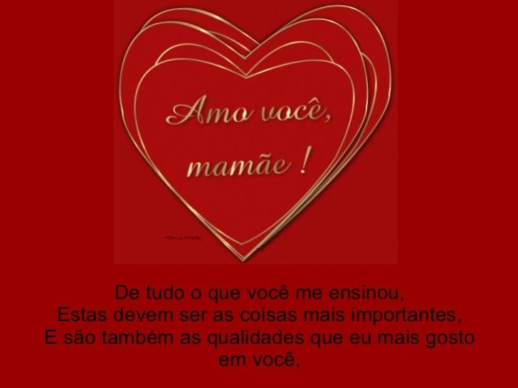 Mensagens Para O Dia Das Mães: Mensagens Slides Feliz Dia Das Maes