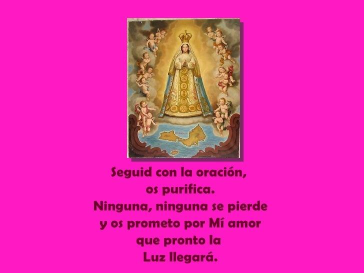 Mensaje De La Virgen Del Valle