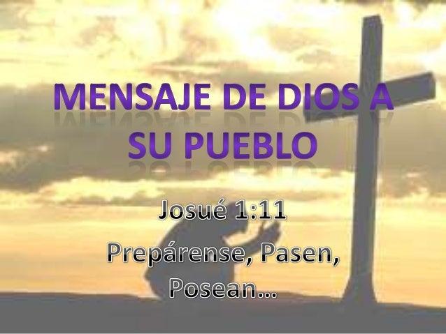 Mensaje De Dios A Su Pueblo