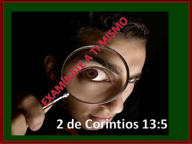 2 de Corintios 13:5