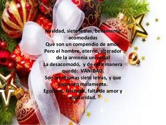 Mensajes de navidad letra