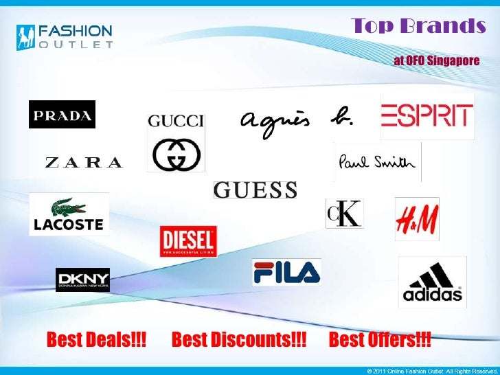 Online Fashion Outlet Singapore
