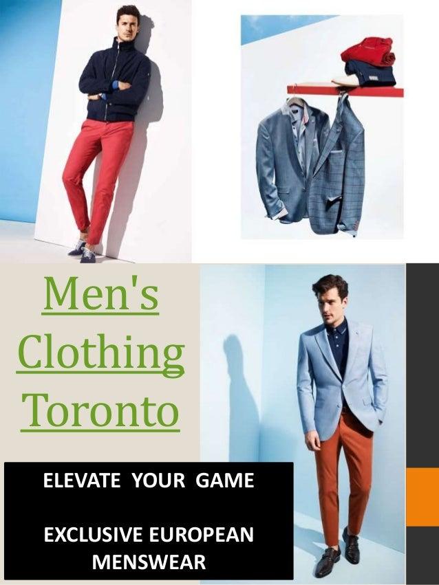 c91bc67f8db Men s clothing toronto