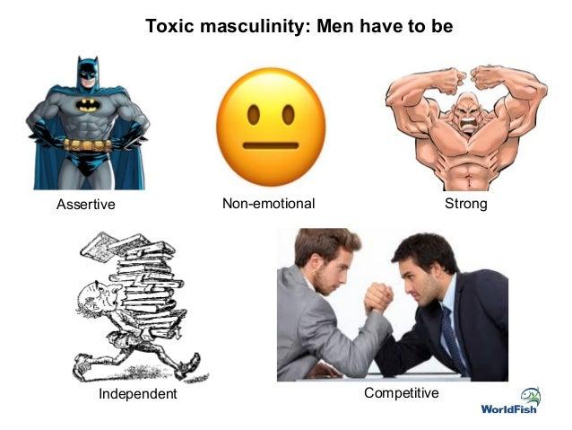 non emotional men