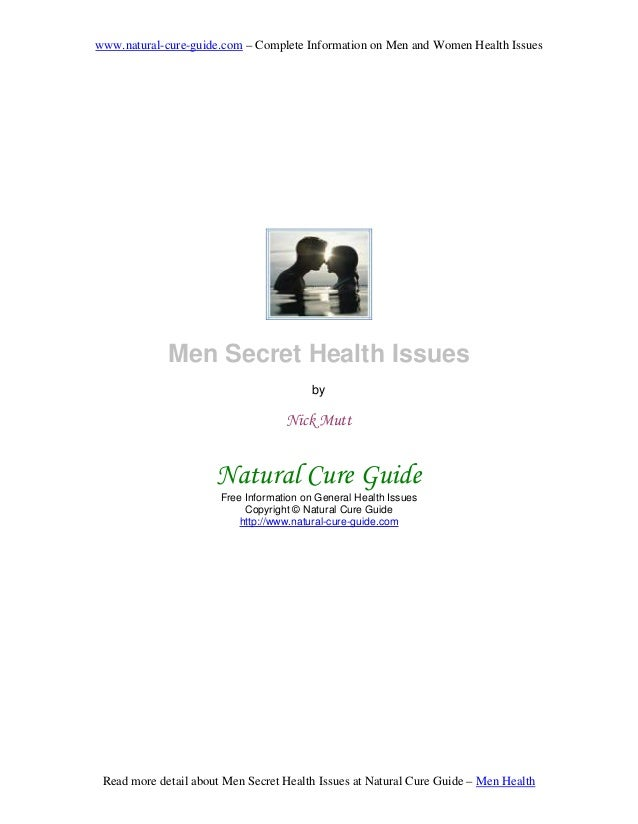 www.natural-cure-guide.com – Complete Information on Men and Women Health Issues Read more detail about Men Secret Health ...