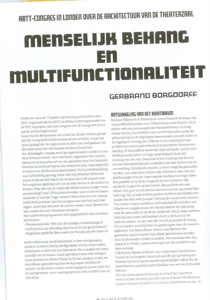 Menselijk behang en multifunctionaliteit