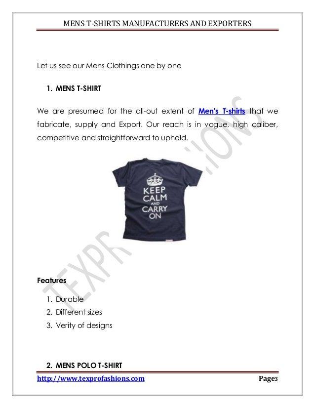 Mens t shirts manufacturer tirupur india for T shirt manufacturing machine in india