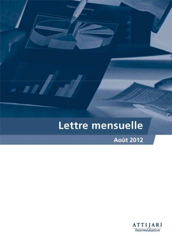 Notre lecture du MarchéUne reprise qui met fin à 5 mois consécutifs de baisseConstat général: le MASI renoue avec le vert ...