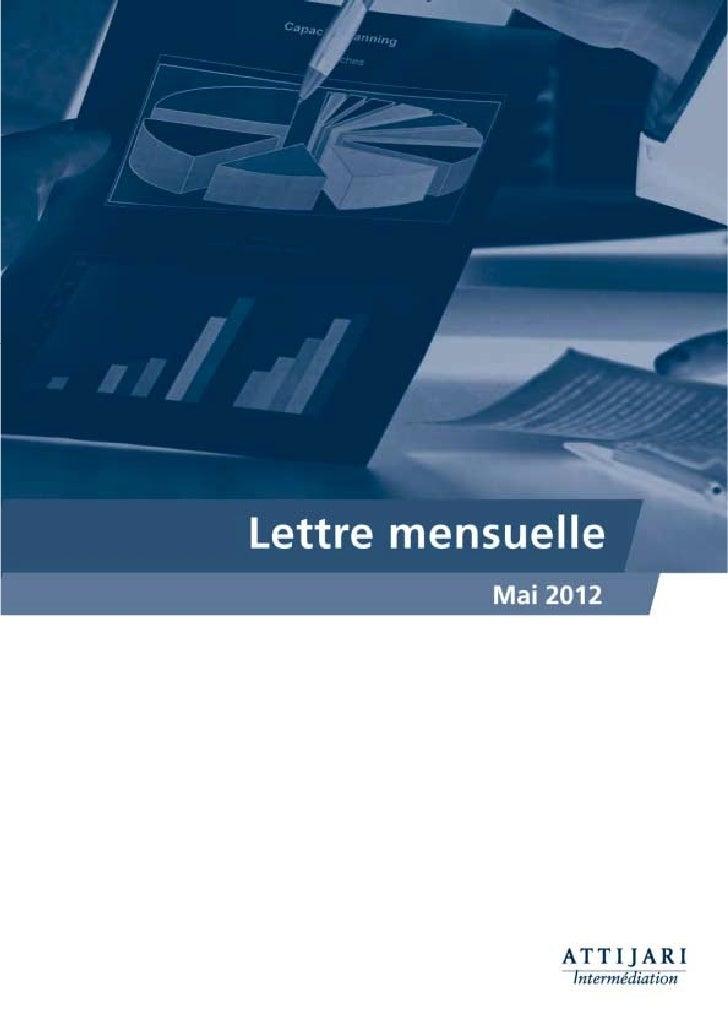 Notre lecture du MarchéAprès deux mois de baisse, une pause s'impose...Constat général: un semestre qui s'annonce difficil...