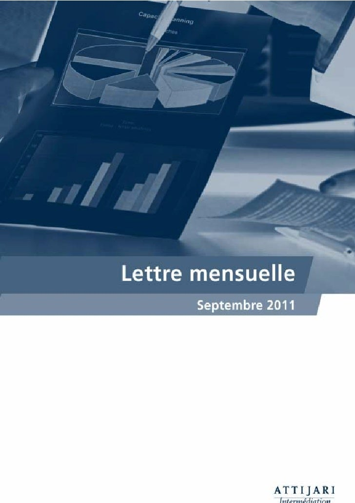 Notre lecture du MarchéMASI, après une hausse de 2,80% une correction s'impose...Au titre de ce mois de septembre qui a co...