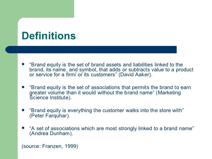 Just how Brand name Collateral Occurs