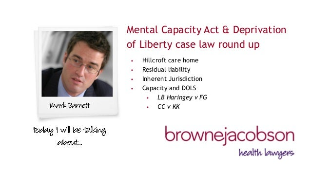 case study on mental capacity Families find that decisions are often made about their relatives without proper mental capacity assessments being carried out mental capacity assessments - when should you we've also included links to some news articles and case studies to show how mental capacity assessments.
