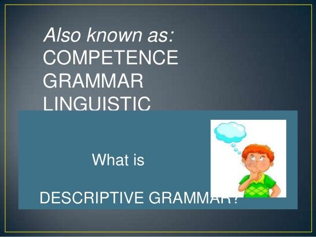 Mental grammar Slide 3
