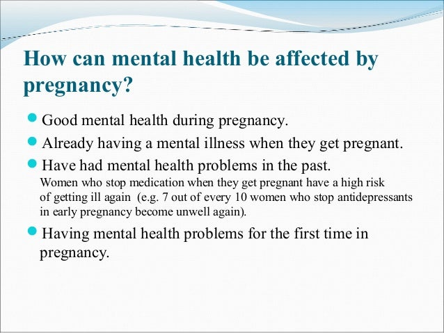 thesis statement on mental illness Diagnosis and labeling of mental health and illness issue of prison and mental we then hear the statement from those calling for more funding for the.