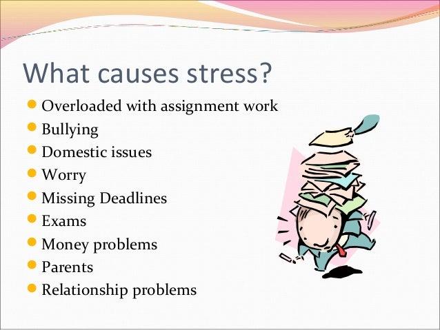 Stress management assignment