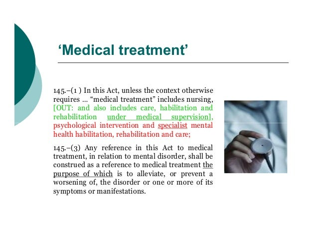 """'Medical treatment'145.–(1 ) In this Act, unless the context otherwiserequires … """"medical treatment"""" includes nursing,[OUT..."""