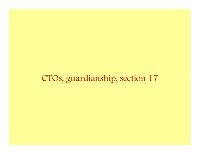 CTOs, guardianship, section 17