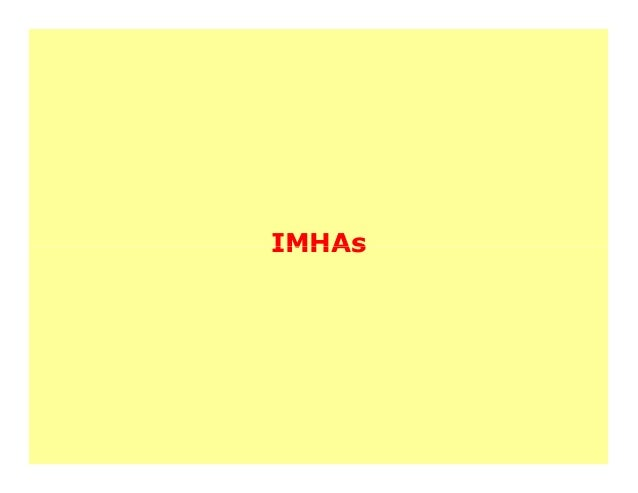 IMHAs