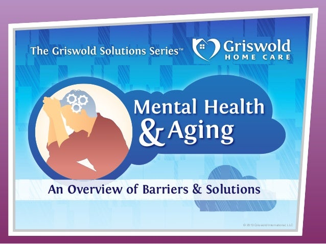 An Overview of Barriers & Solutions © 2013 Griswold International, LLC