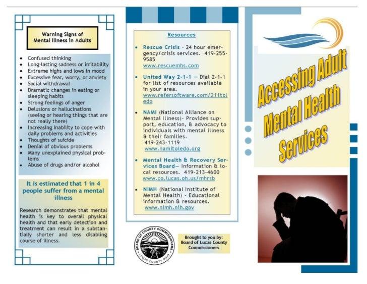 Mental Health Brochure pg 1