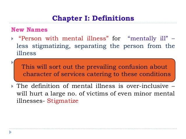 Mental health care bill kochi 2014 Slide 3
