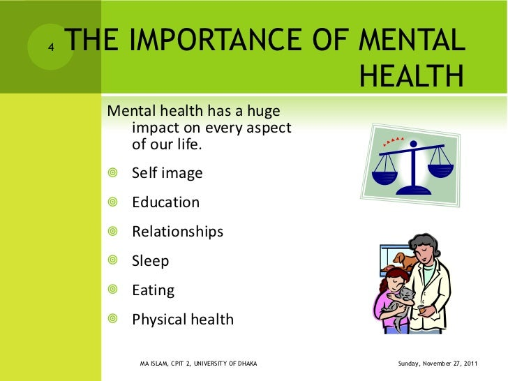 importance mental health