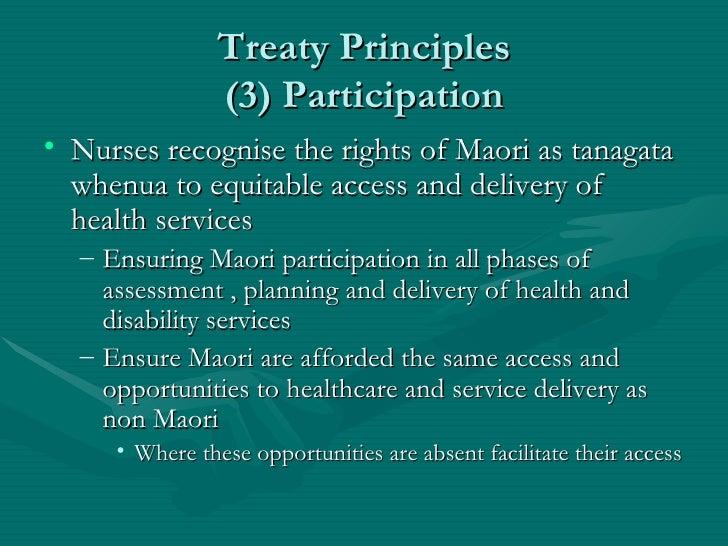 how the treaty of waitangi effected maori health Foundation course in m ori healthcare & the treaty of waitangi (.