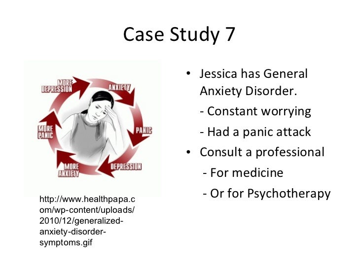 a paper on generalized anxiety disorder Dr research paper generalized anxiety disorder people with the disorder, which is also referred to as gad, experience excessive anxiety and worry.