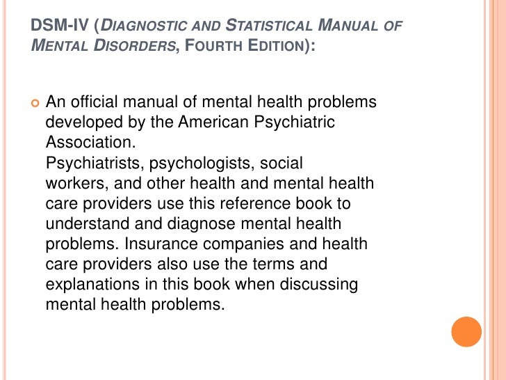 american psychiatric association glossary of terms