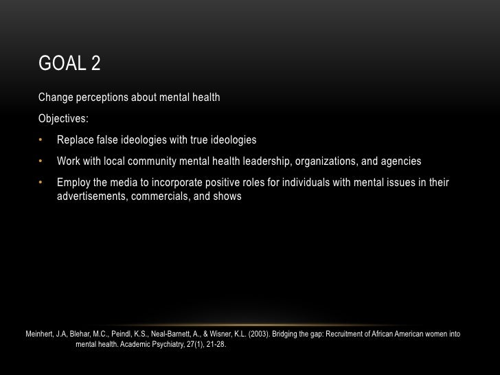 Mental Health Issues In African American Women Perceptions And Stigmas