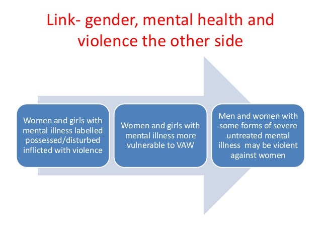 The Relationship Between Mental Health and Crime