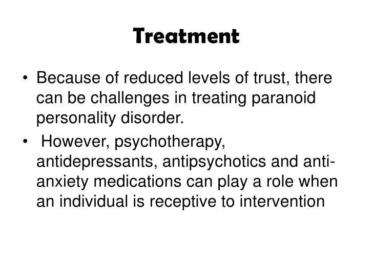 Mental illness paranoia + ocd