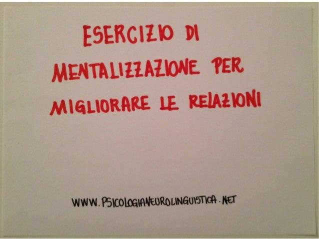Mentalizzazione e relazioni sociali