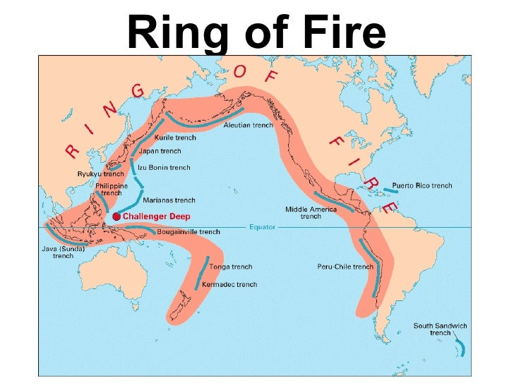 Mental map of the world cultural bias and geography this is the ring of fire 22 publicscrutiny Image collections